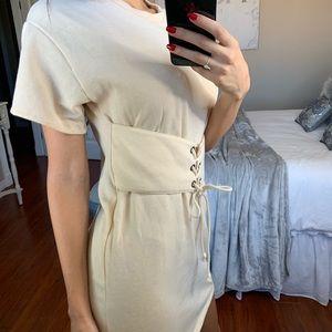 Lush Dresses - Comfy Tee Shirt Dress